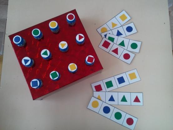 Дидактическая игра «Выкрути фигуру»
