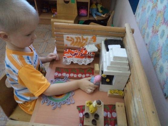 Русская изба своими руками для детского сада