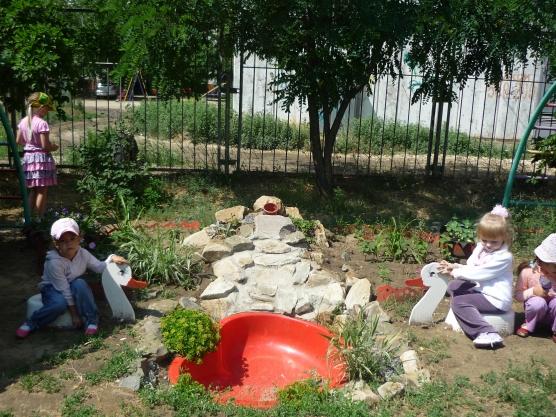 Игровая зона в детском саду оформление 9
