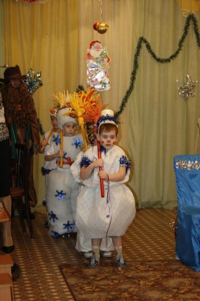 Сценарий нового года для детей старшей группы детского сада