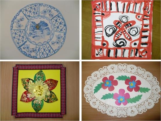 Использование народных орнаментов в детском дизайне
