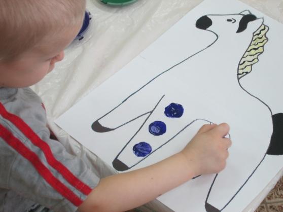 знакомство с дымковской игрушкой для детей 3 лет