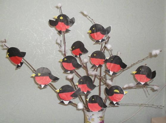 Поделка птица своими руками для детского сада