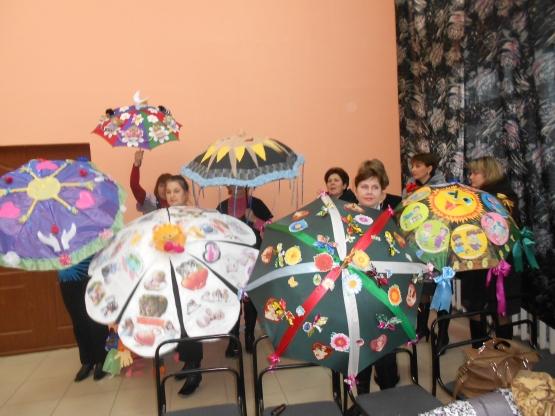 Зонтик на конкурс своими руками 21