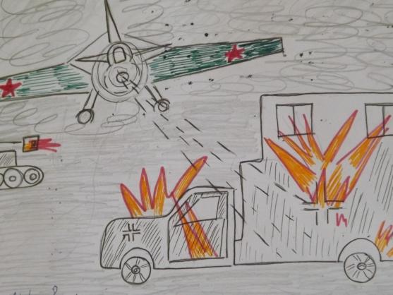 Рисунок к великой отечественной войне 4 класс