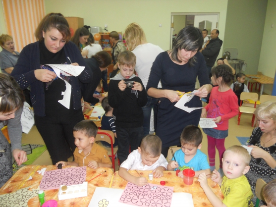 Развлечение для мам и детей «Мамочка милая, мама моя»