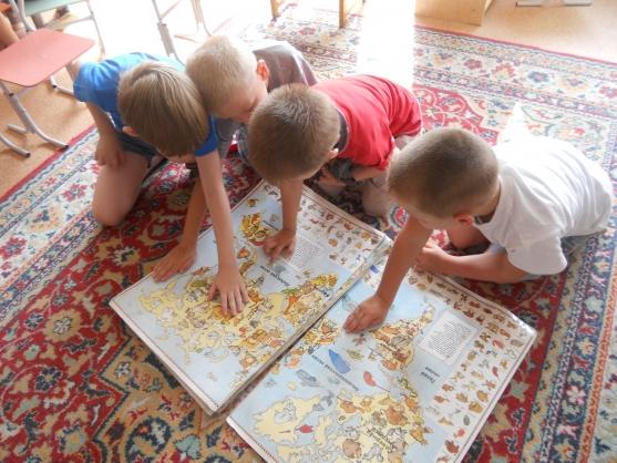 знакомство ребенка со свойствами окружающего мира