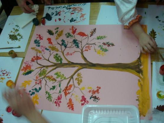 знакомство с деревьями в подготовительной группе