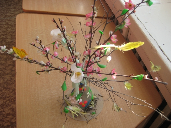 как сделать поделку на тему весна своими руками