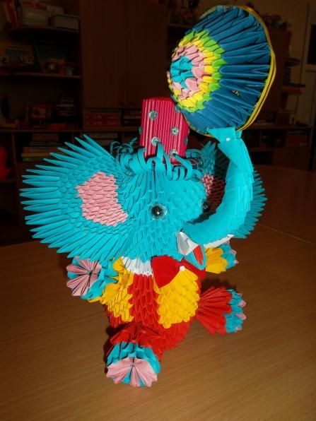 Слонёнок-циркач.