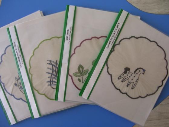 Знакомство дошкольников с изделиями народного творчества