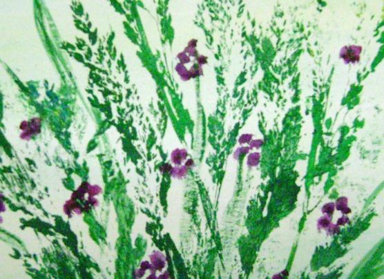 Изобразительная техника «Печать листьями, растениями и цветами»