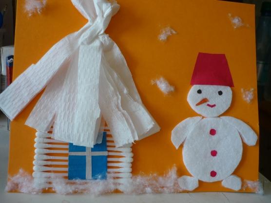 Новогодние поделки своими руками в детском саду фото