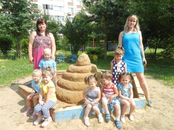 Конкурс в детском саду «Песочная фантазия»