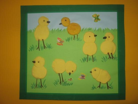 Картинки цыплята на лугу 2 младшая группа, вставить