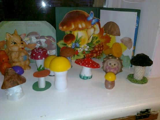 Поделки на тему ягоды и грибы 92