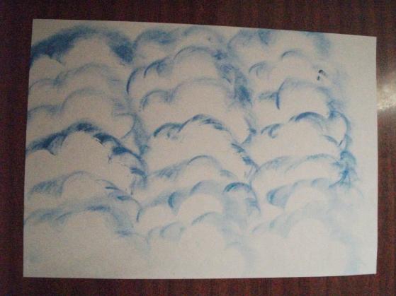 Мастер-класс. Рисование облаков