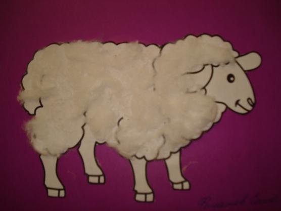 Открытки овечки из ваты, поздравлениями марта