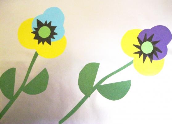 занятия для детей собираем цветы для мамы нового салона мебели