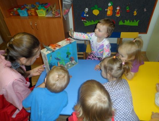 знакомство дошкольника с обитателями морей и рек