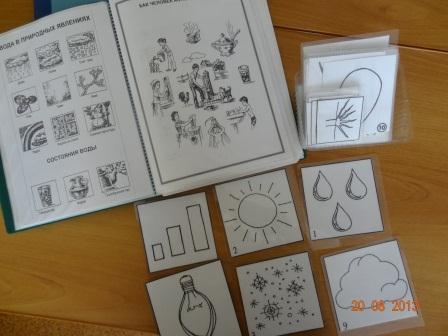 Разработаны карточки и схемы опытов.