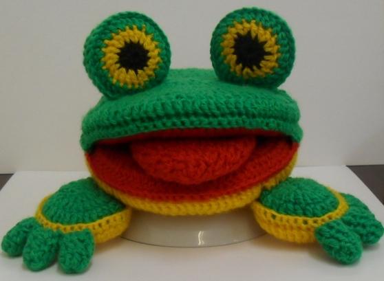 лягушка вязание - Самое