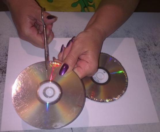 Как сделать диск для цветков 998