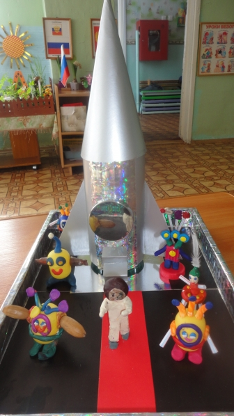 Как сделать ракету из киндера