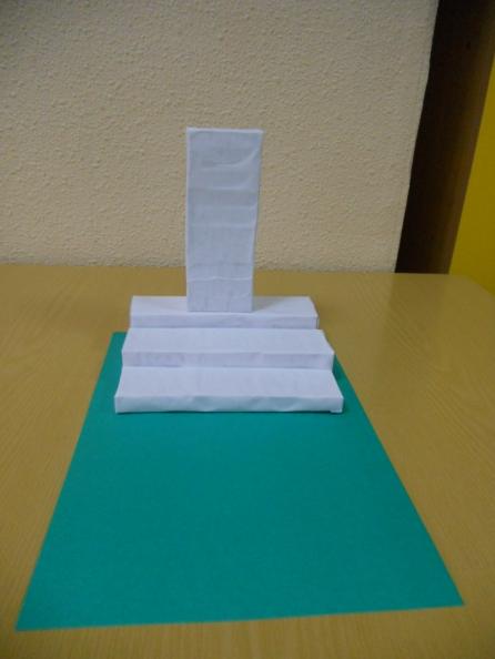 Как сделать поделку памятника