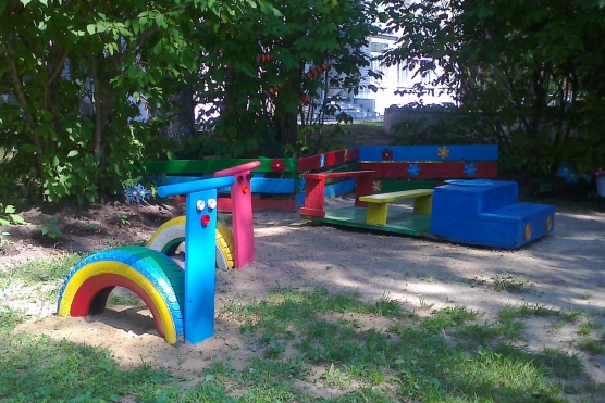 Поделки в детском саду оформление детских участков своими руками фото 587