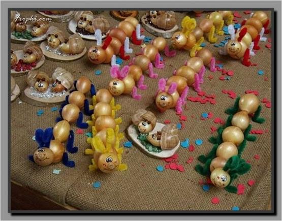 Поделки из лука для детского сада своими руками 122