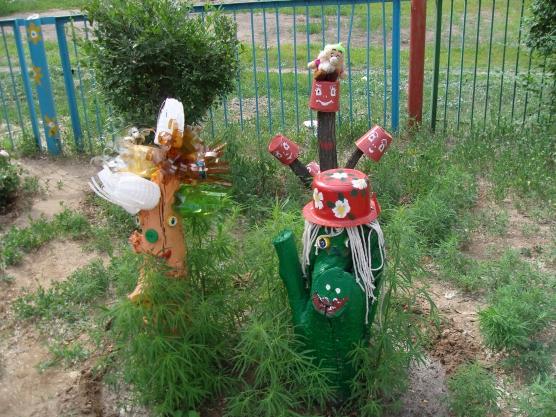 Поделки своими руками для площадки в детском саду фото фото 918