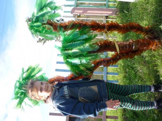 Конспект НОД по конструированию из бросового материала в подготовительной группе «Сказочная пальма»