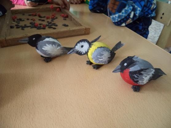 Как изготовить птицу 270