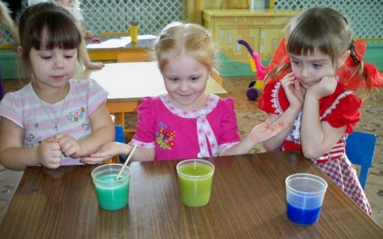 знакомство со свойствами воды в 1 младшей группе
