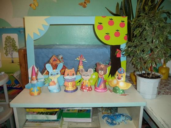 Старшая группа кукольный театр своими руками