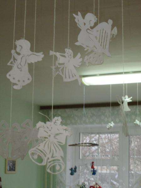Украшение группы детского сада к новому году своими руками фото