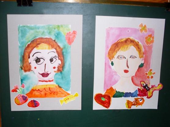 Поделки или рисунки для мамы