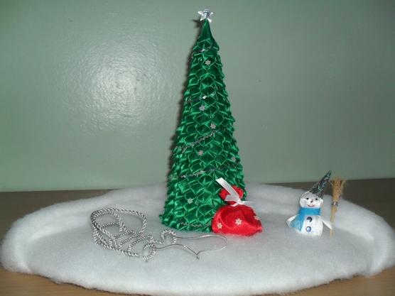 Игрушки на елку в детский сад своими руками