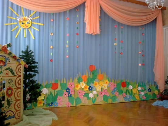 Детский зал оформить своими руками