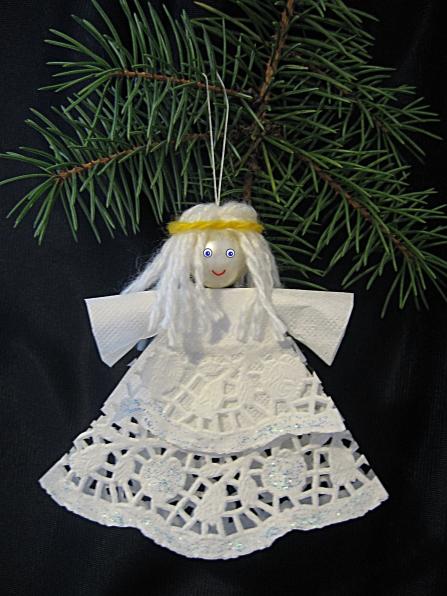 ангел в подарок на рождество