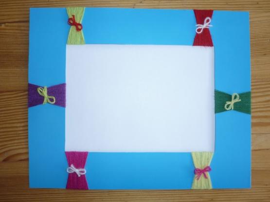 Рамки для фото своими руками из цветной бумаги