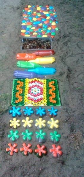 Дорожки здоровья на участке детского сада своими руками