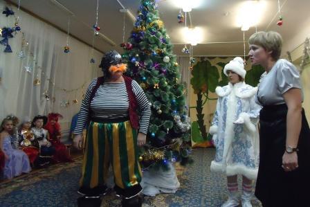 Сценарий для нового года в детском саду с бабой ягой