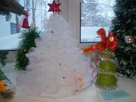 Легкие новогодние поделки  для детского сада