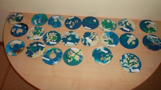 Морское дно». Поделки из дисков на