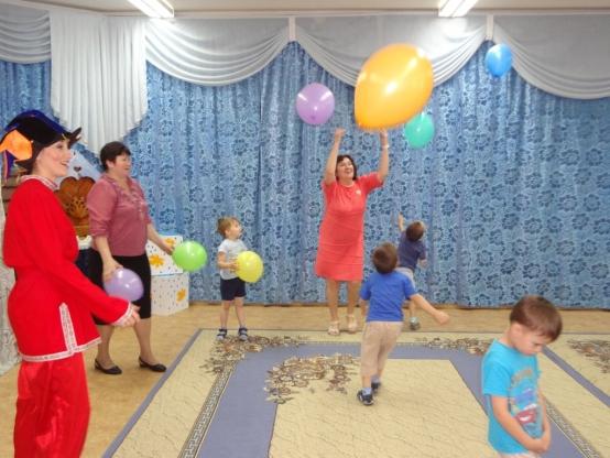 знакомство с детским садом праздник