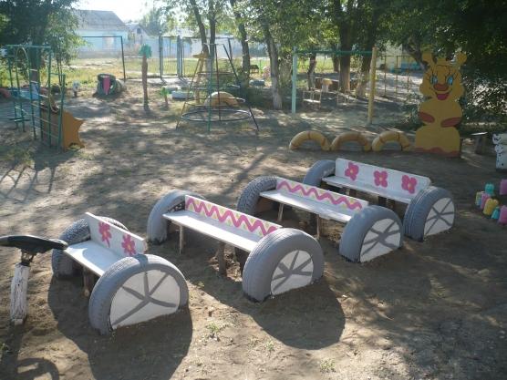 Детские машинки своими руками из шин - Bonbouton.ru