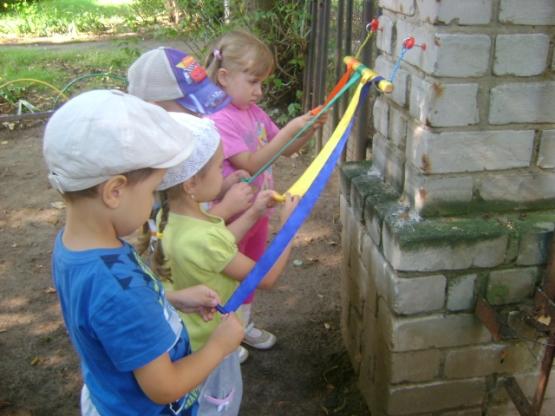 Развивающая среда на участке детского сада своими руками летом