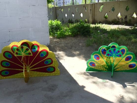 как украсить участок в детском саду своими руками летом фото